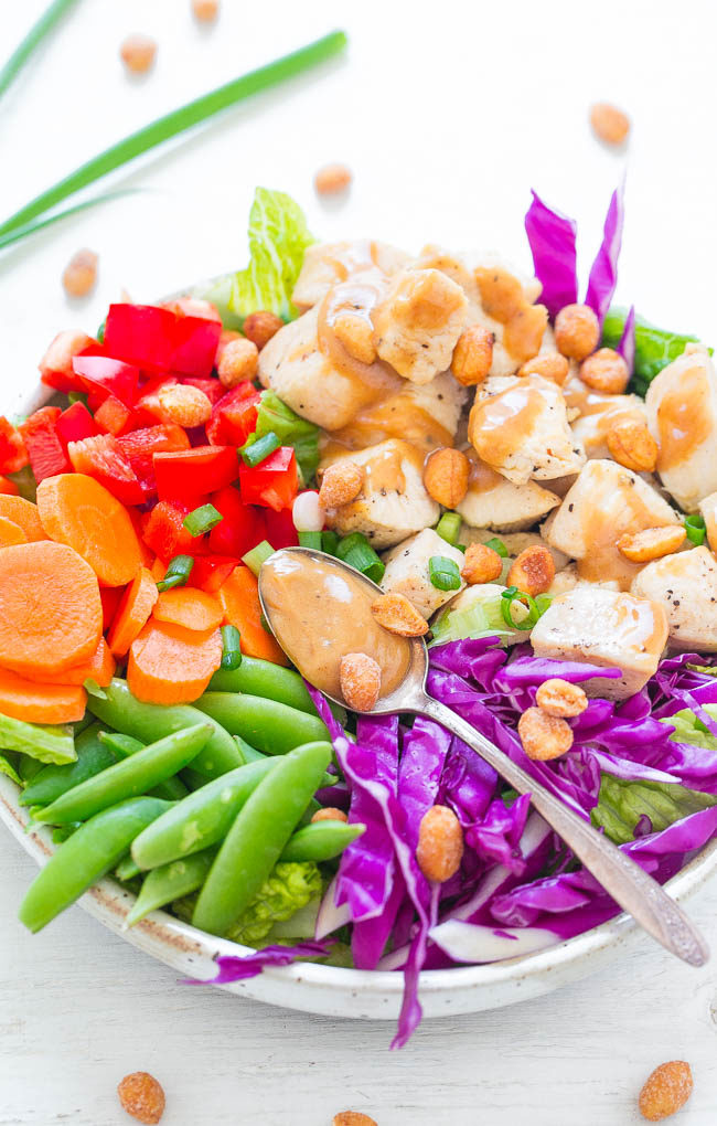 Thai Peanut Chicken Salad