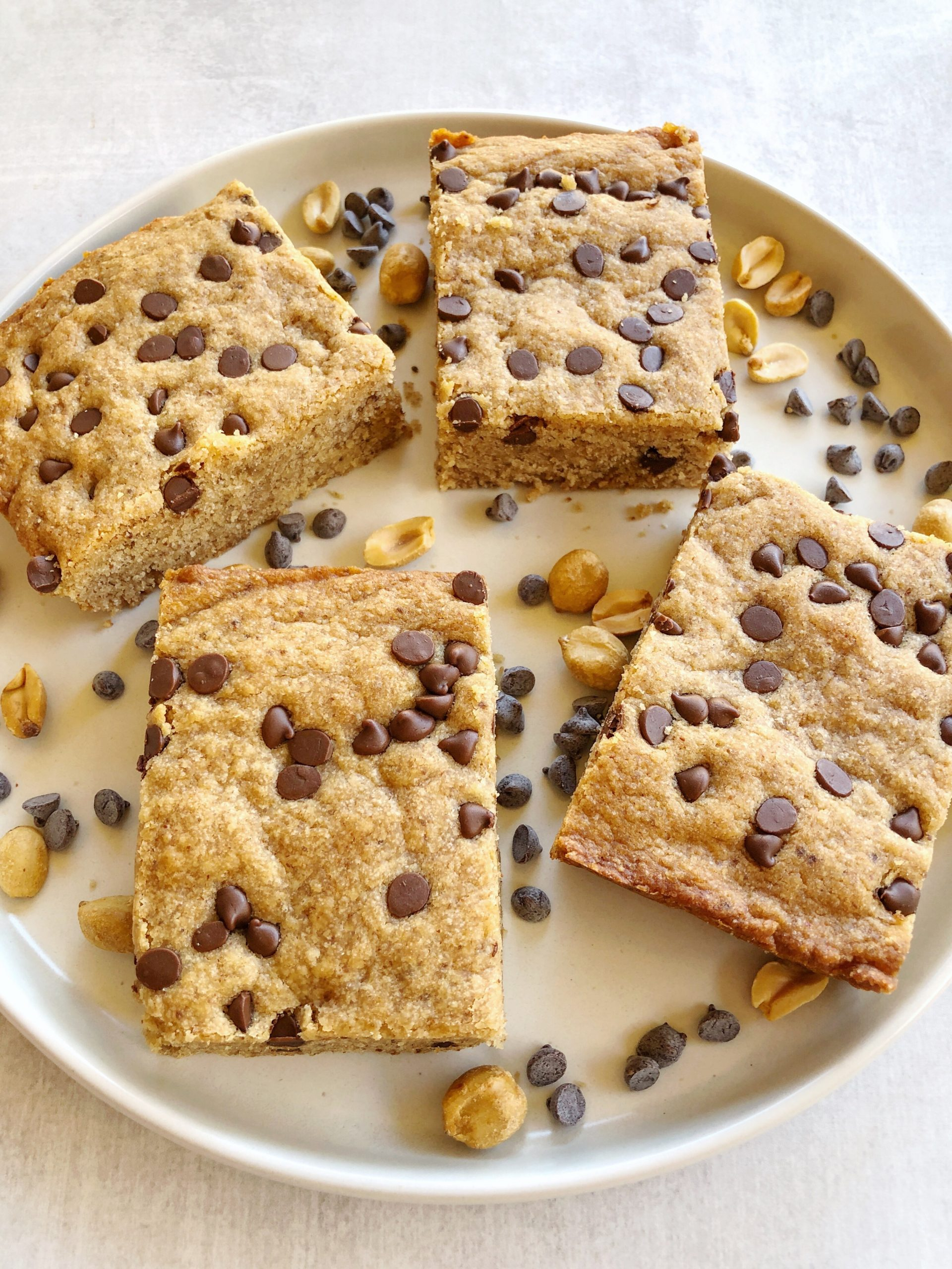 Vegan Peanut Butter Blondies